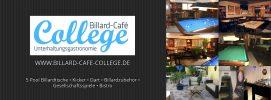 Billard-Cafe College Facebook Titelbild