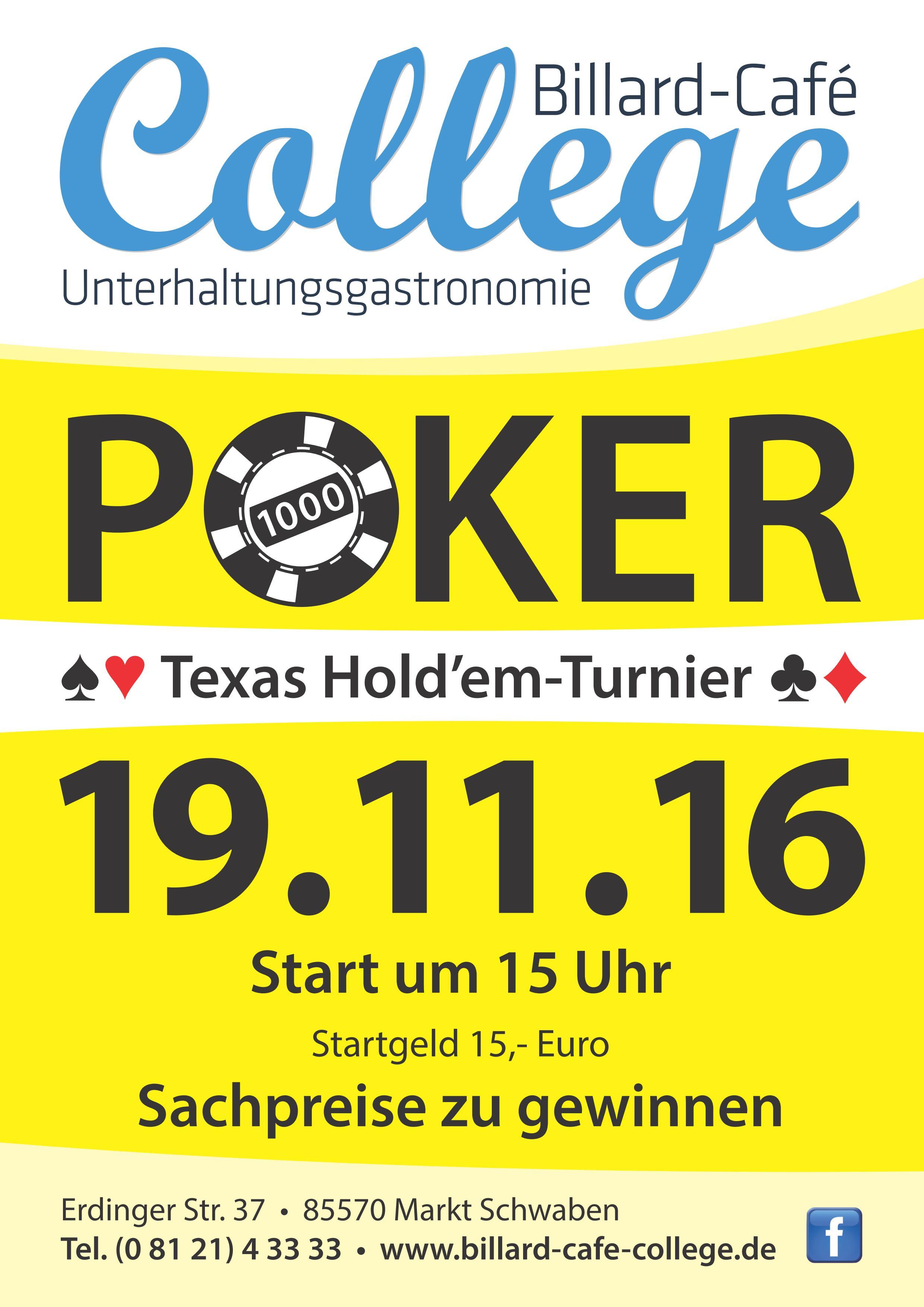 Poker Turnier